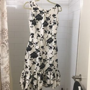 Black and White Kate Spade Dress Size 2